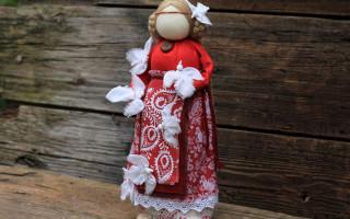 Птица Радость — кукла, призывающая весну: делаем своими руками