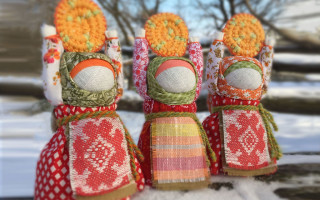 Кукла Масленица и чучело: как сделать своими руками
