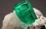 Изумруд — зеленый камень, о котором слышал каждый