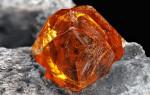Спессартин — камень мандаринового цвета
