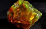 Огненный опал — камень из глубокой древности