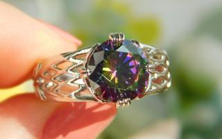 Топаз мистик: камень цвета радуги и его секреты