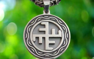 Солнечный крест и Небесный крест: значение символов
