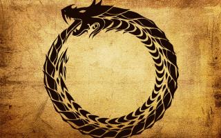 Кольцо Уробороса – знак Змея, пожирающего свой хвост