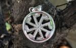 Оберег Ладинец: значение символа Крест Лады