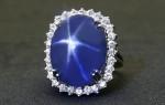 Звездчатый сапфир — камень с уникальным узором