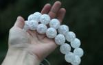 Сахарный кварц, или снежный камень