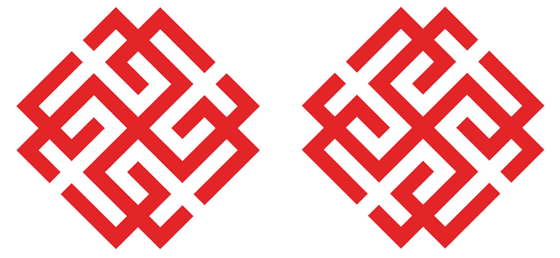 Символы Сварожич и Родимич