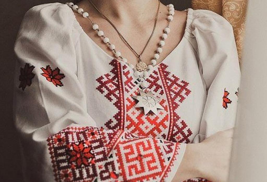 Славянские обереги в виде вышивки