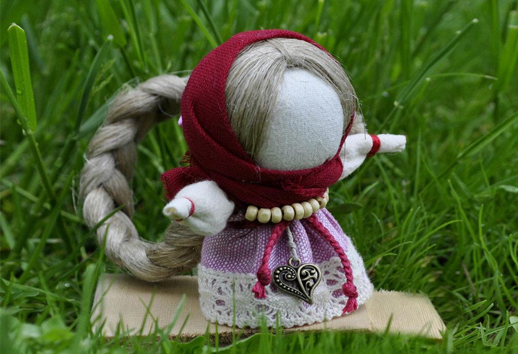 Кукла на счастье своими руками