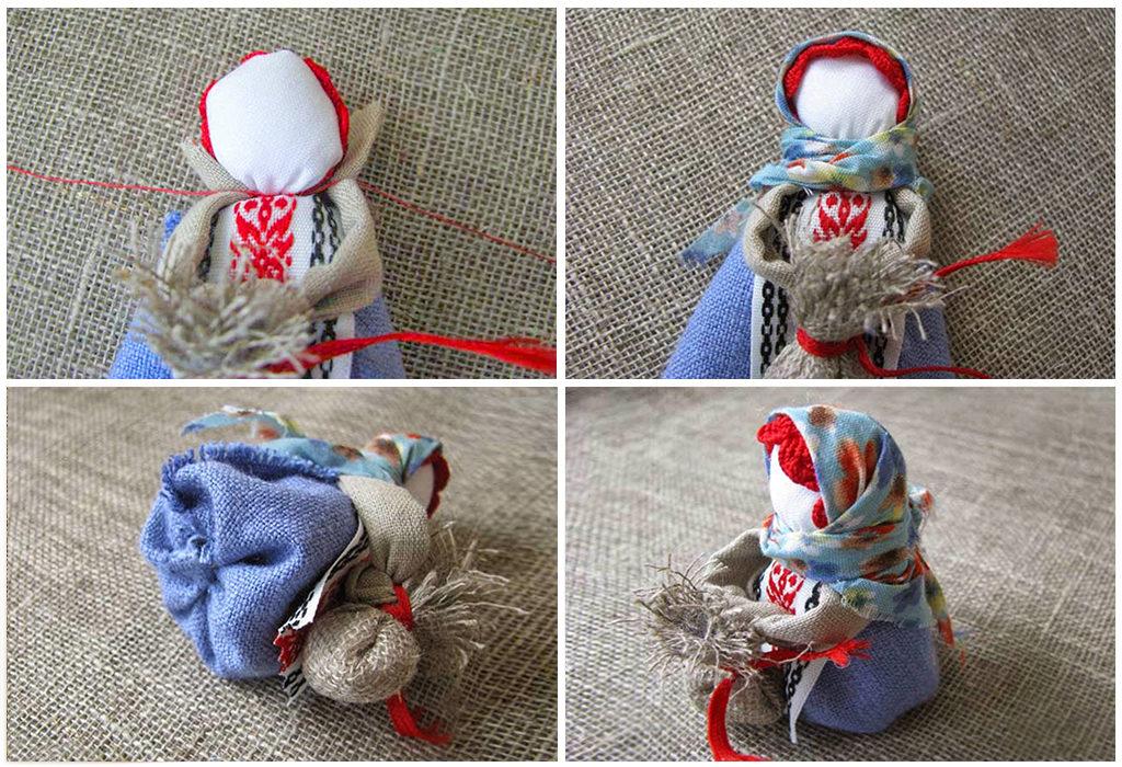 Мастер класс по созданию куклы Подорожницы 5