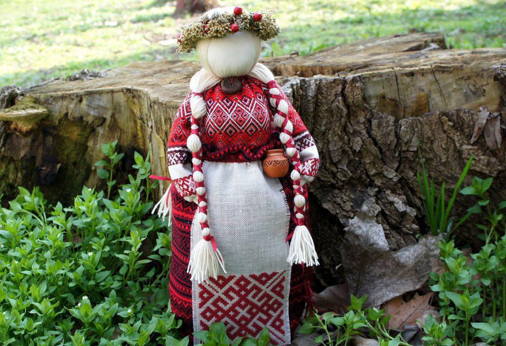Тряпичный оберег кукла мотанка
