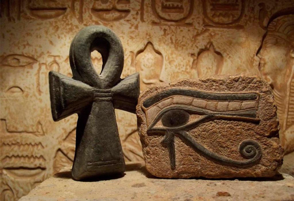 идеи использования фото символов египта натяжные полотна