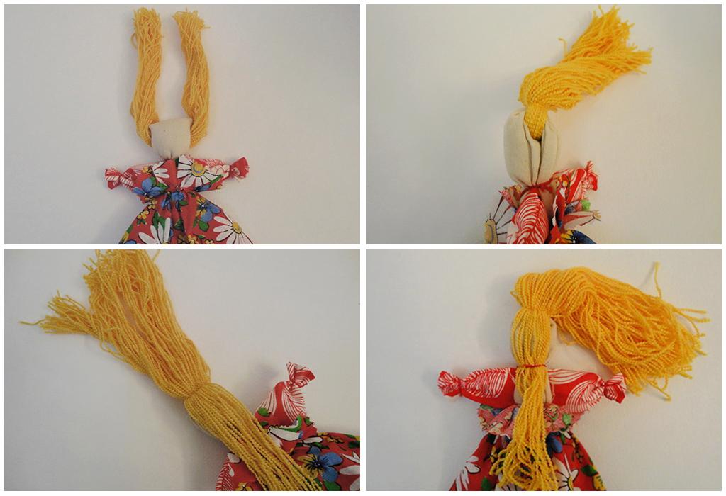 Мастер класс по созданию куклы Веснянки 3