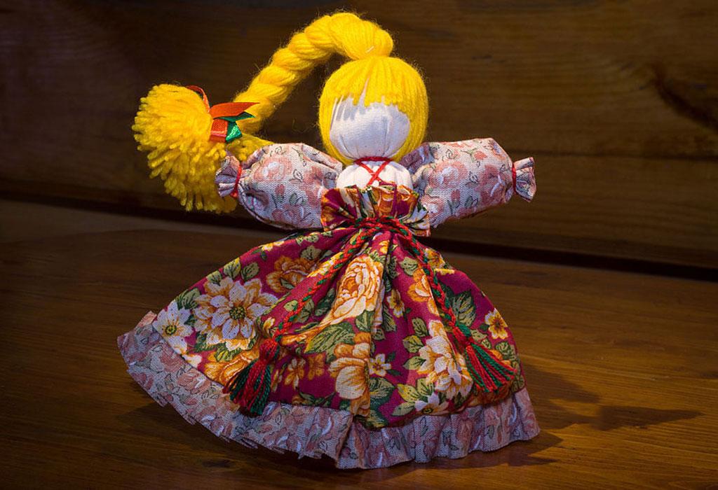 Кукла Веснянка