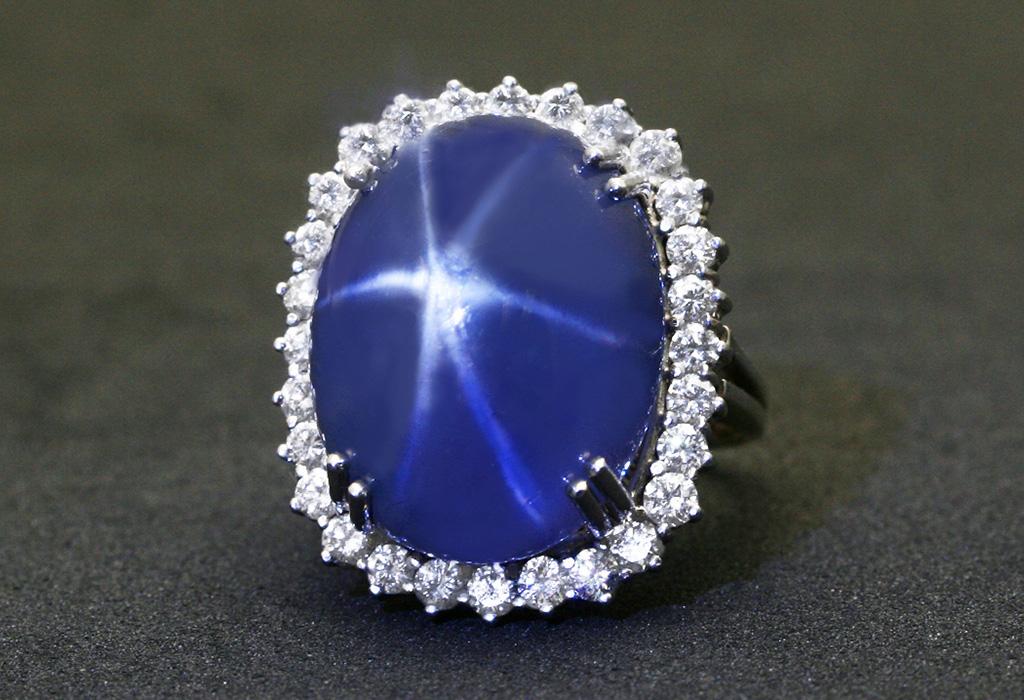 Камень звездный сапфир фото