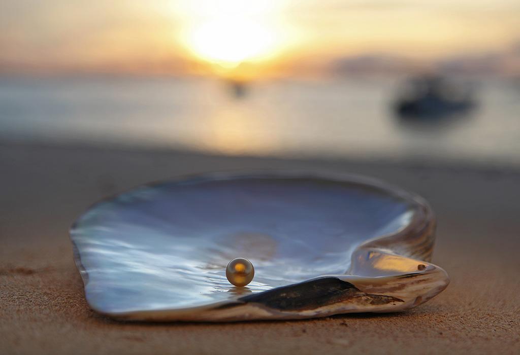 Картинки жемчуга в море