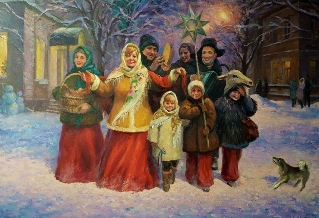выбрать картинка славянское рождество самых, из-за